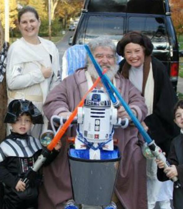 Chuck Blazer dressed as a Star Wars character