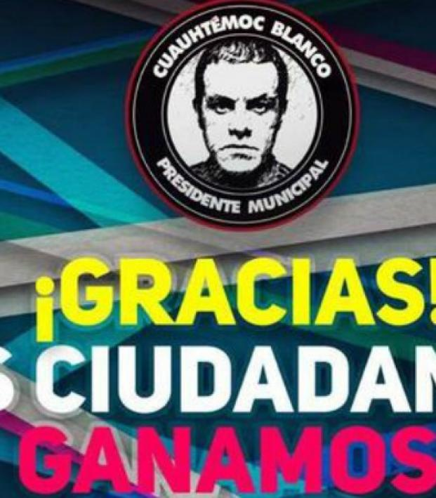Cuauhtemoc Blanco wons election