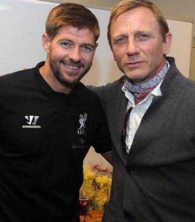 Daniel Craig Steven Gerrard