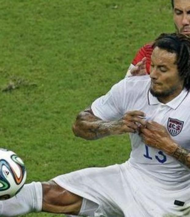 Jermaine Jones yoga