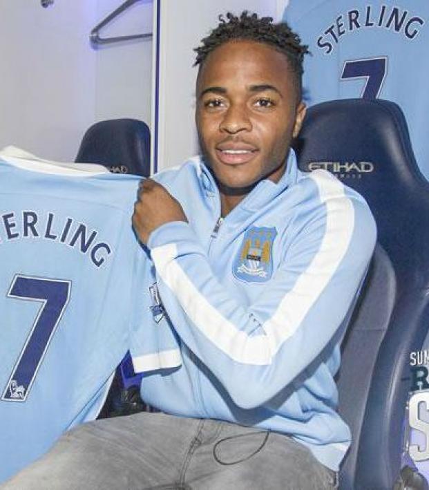 finest selection af39c be015 Raheem Sterling Says Aguero Equals Suarez, Lauds Manchester ...