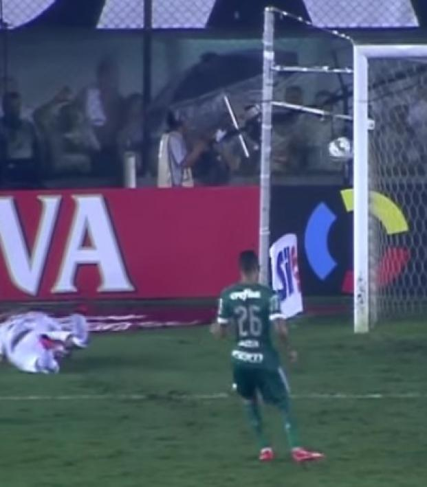 Campeonato Brasileiro Key Missing Players: WATCH: Santos Player Face Plant And Wide Open Miss In Cup