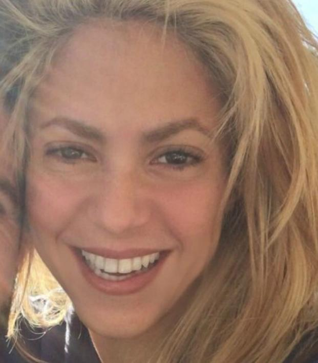 Shakira enjoyed herself at El Clasico.