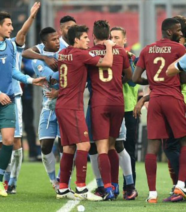 Roma defeated Lazio 2-0 in the Rome derby.
