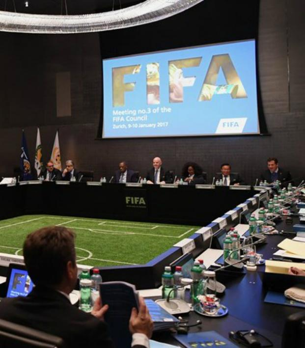 Gianni Infantino and the FIFA Council