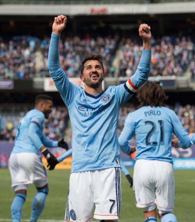 NYCFC's David Villa
