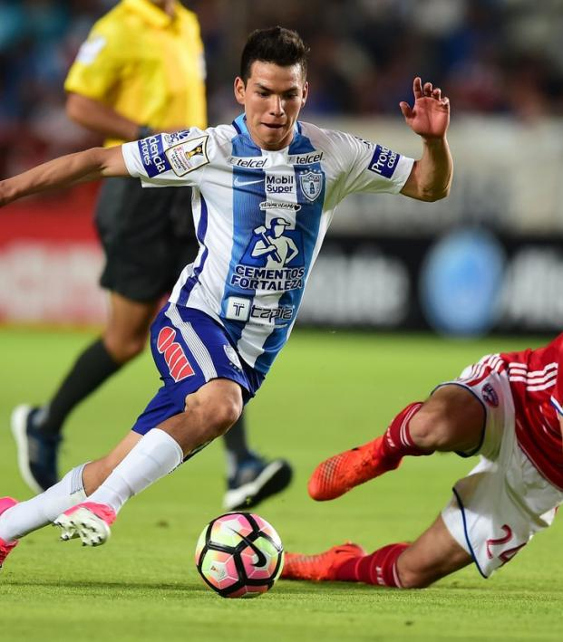 Chucky Lozano and Matt Hedges