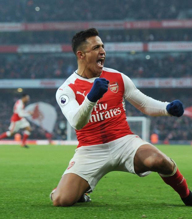 Alexis Sanchez Free Kick Goal