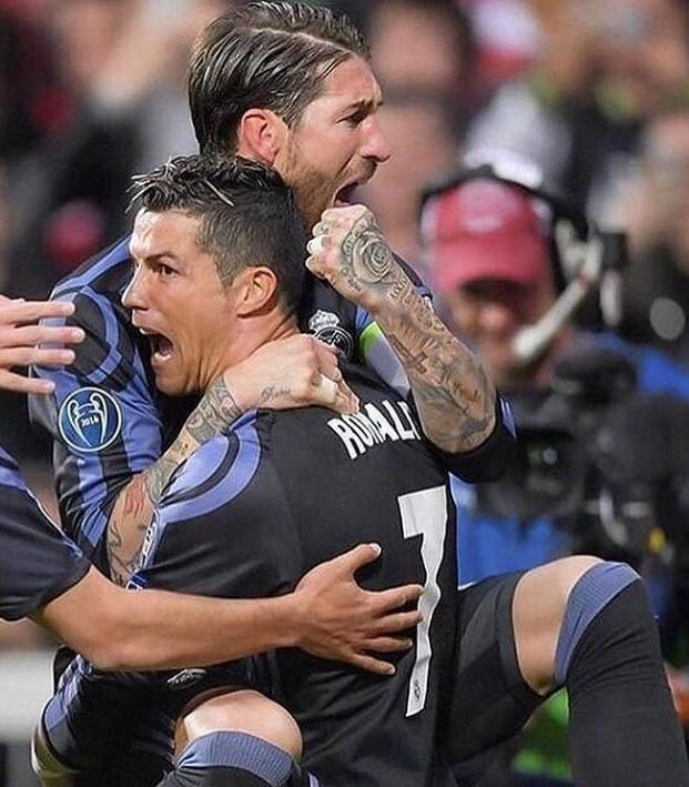 Ronaldo scores, but Ramos own goal sends game to extra time