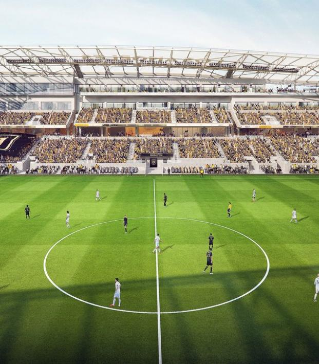 LAFC Banc Of California Stadium