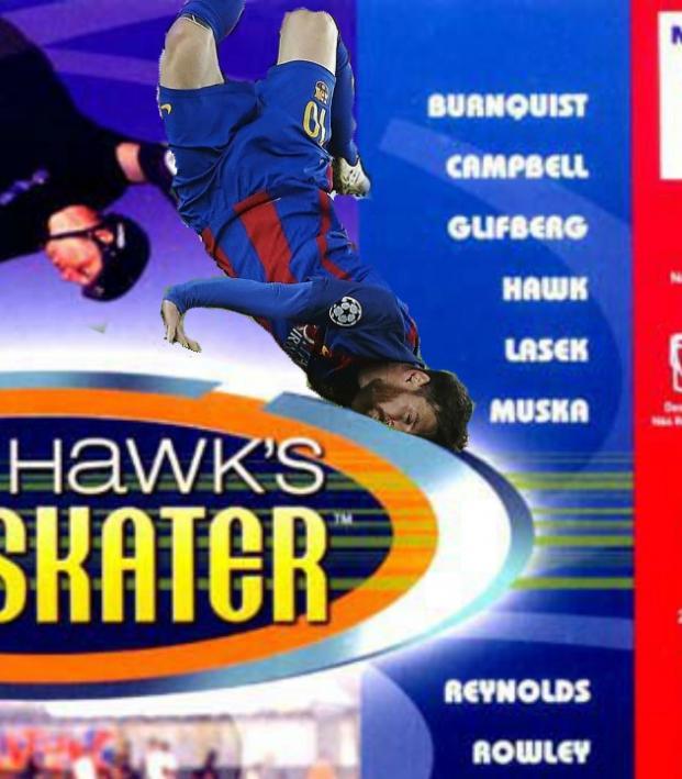 Tony Hawk's Pro Soccer Skater