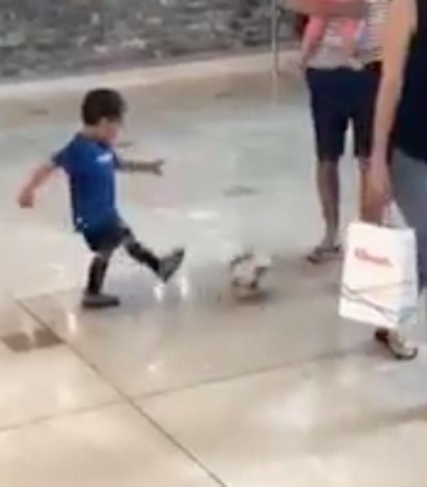 Kid Nutmegs Everyone In Sight