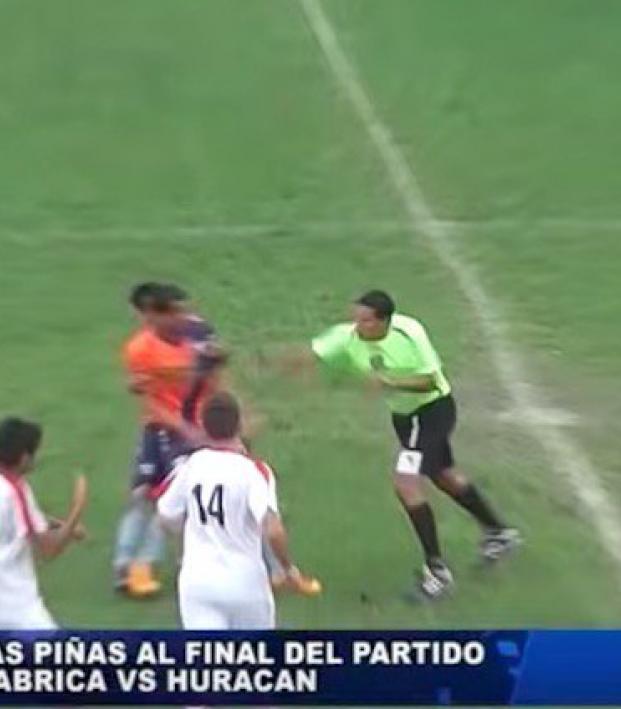 referee fight