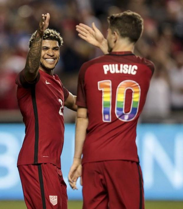 U.S. national teams show their support for LGBT Pride Month