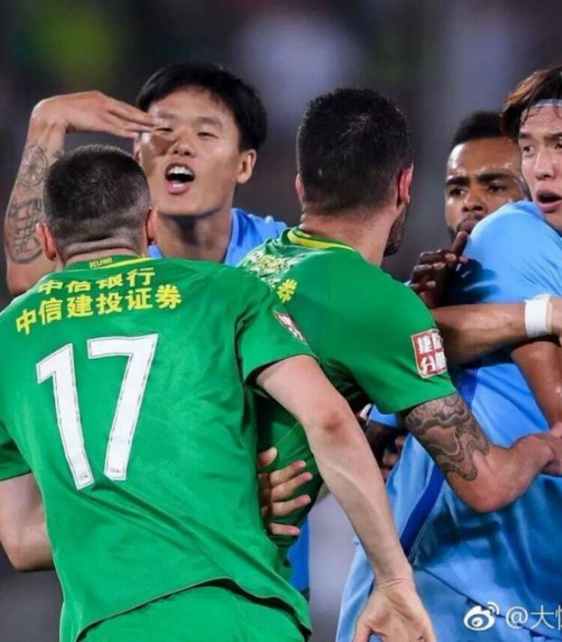 The Chinese Super League Is The Scene Of Another Brawl