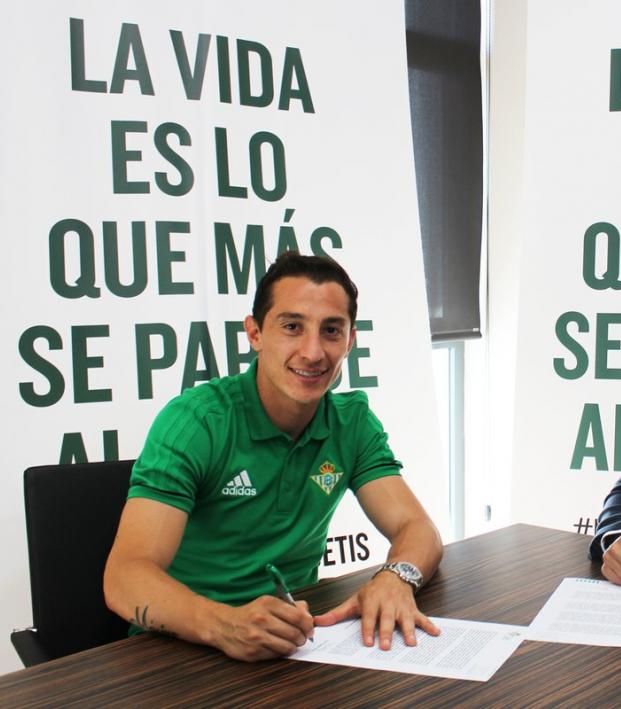 Andres Guardado transfer to Real Betis