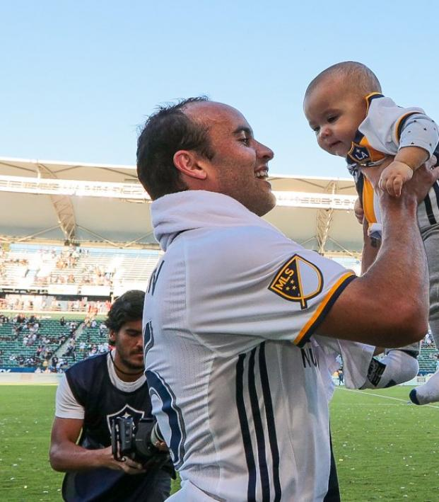 online store 428ba bdad0 Landon Donovan's Son Is Going To Be Good At Soccer