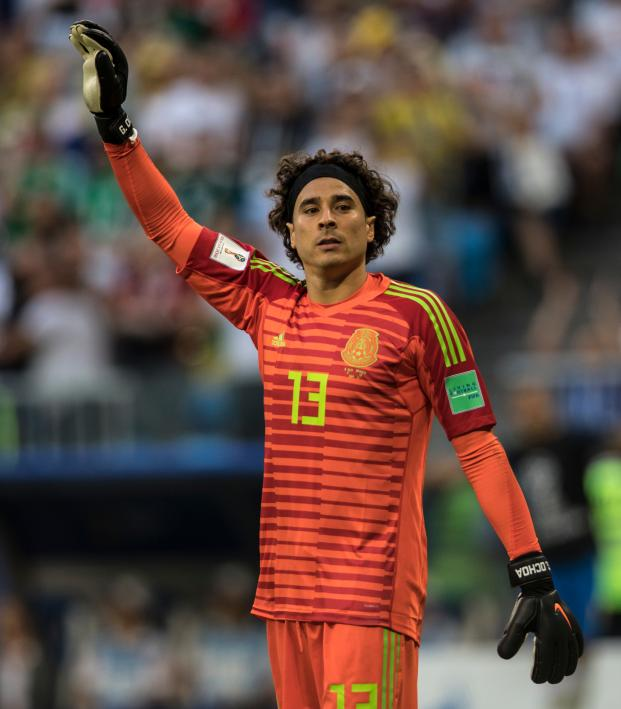 dec1b0e668b Guillermo Ochoa Silver Glove Award At The World Cup Is Deserved