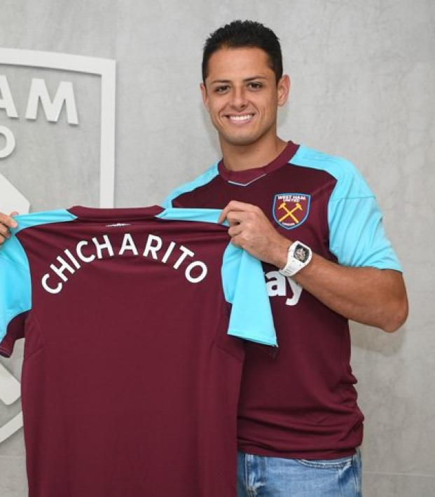 the best attitude b2420 4d32e Chicharito Has Officially Signed With West Ham