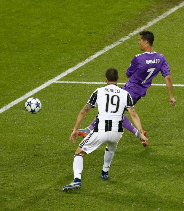 Ronaldo and Bonucci