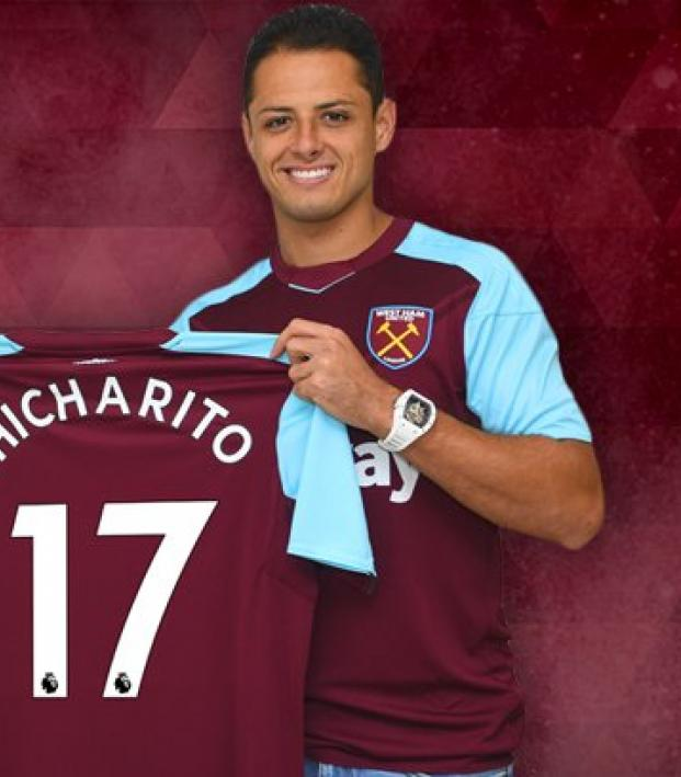 Chicharito s West Ham Squad Number Has Been Revealed 4a48db910