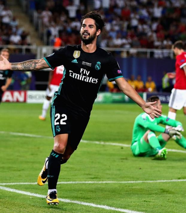 Real Madrid defeat Manchester United in UEFA Super Cup