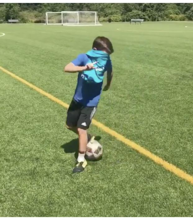 Blindfolded Soccer Drills