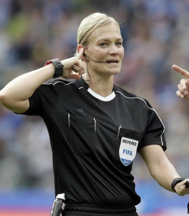 First female referee