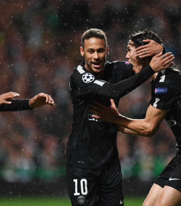 Neymar goal vs Celtic Champions League