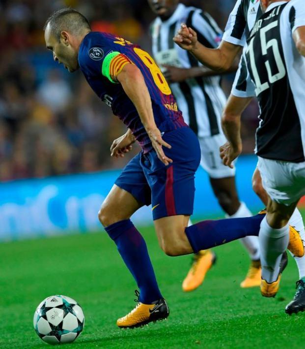 Andres Iniesta vs. Juventus