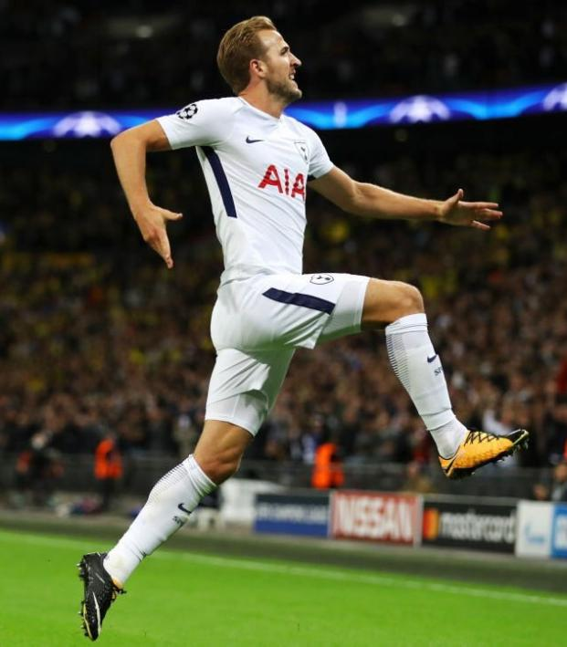 Harry Kane's scoring rate is matched only by Messi