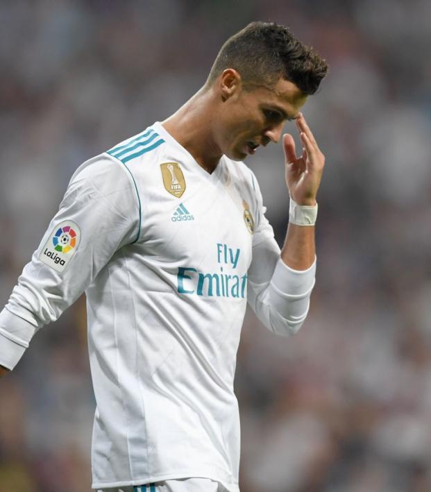 Cristiano Ronaldo awful miss