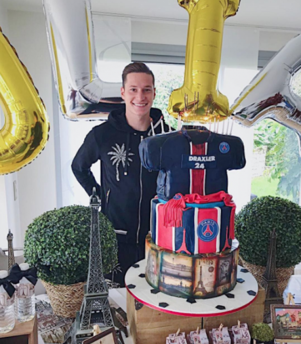 Julian Draxler birthday cake