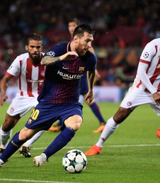 Lionel Messi 100 European goals