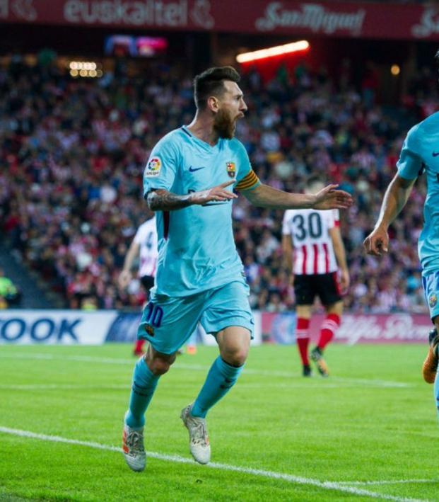 Barcelona vs Bilbao Decided By Lionel Messi