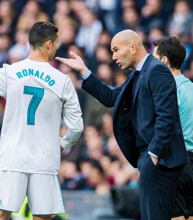 Zinedine Zidane Real Madrid tactics