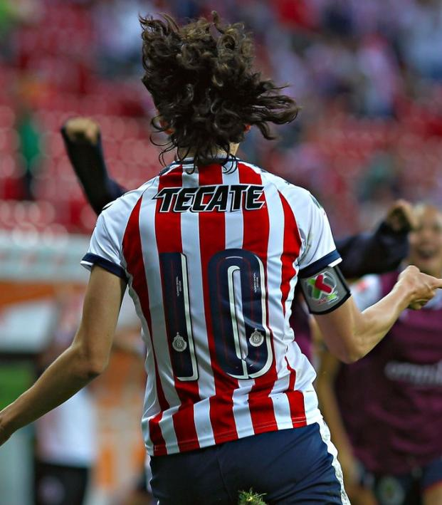 Tania Morales Chivas Guadalajara Femenil Captain