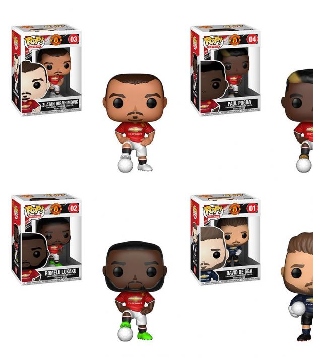 Paul Pogba Funko Pop Vinyl Figure Manchester United EPL Pop Football Action- & Spielfiguren