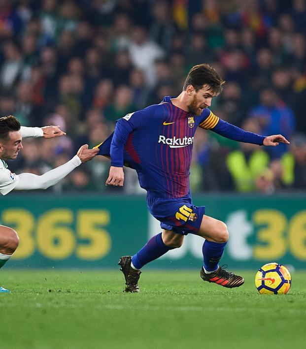 Messi ball control