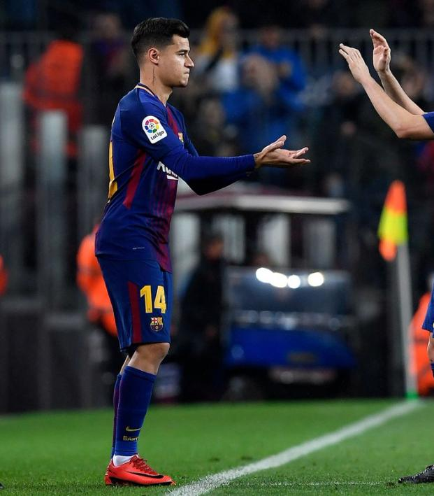 Philippe Coutinho Barcelona debut