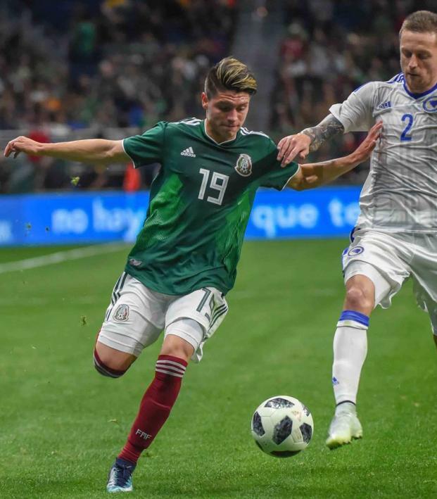 Jonathan Gonzalez Mexico Debut