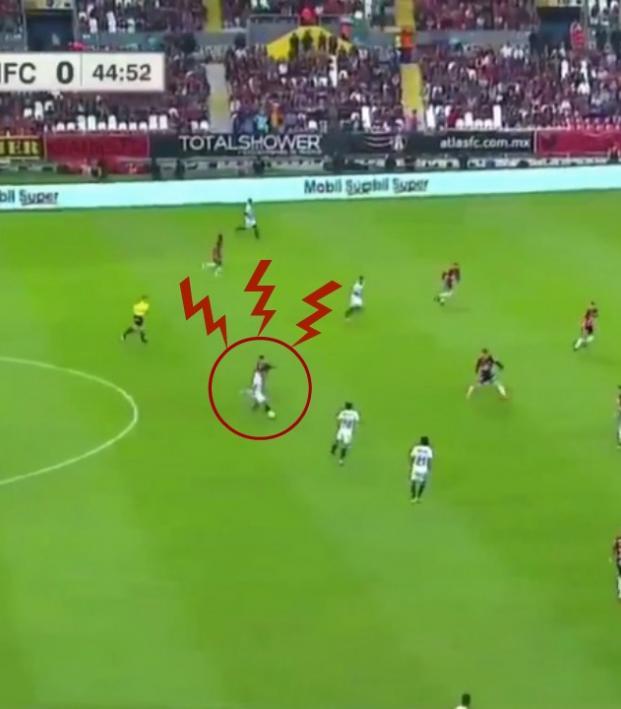 Eduardo Aguirre Copa MX goal vs Atlas