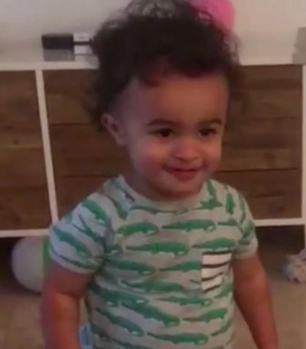 Sydney Leroux child