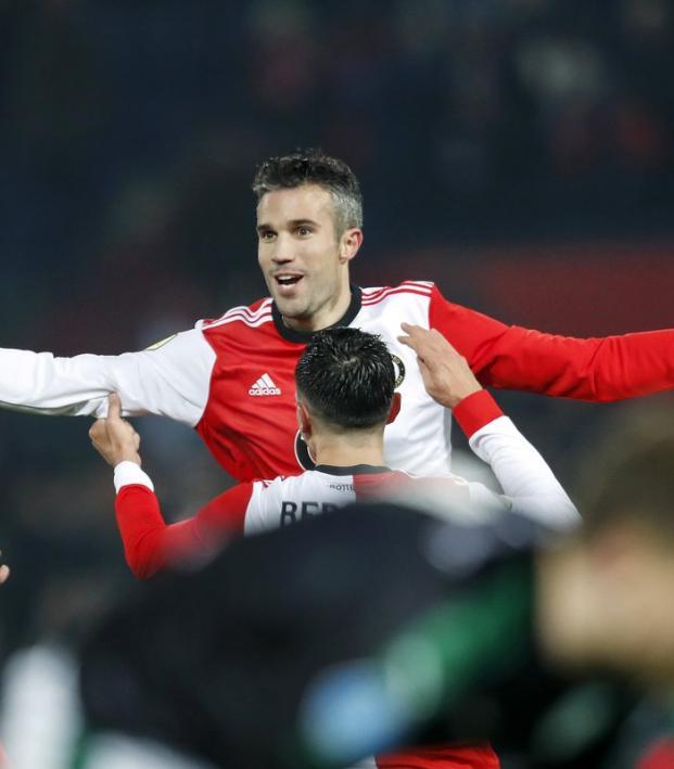 Robin van Persie Feyenoord goal