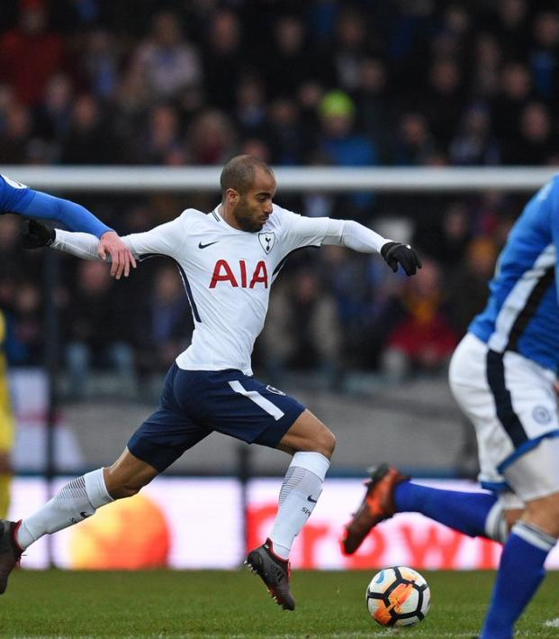 Lucas Moura Top Speed: Lucas Moura Tottenham Debut In FA Cup Vs. Rochdale