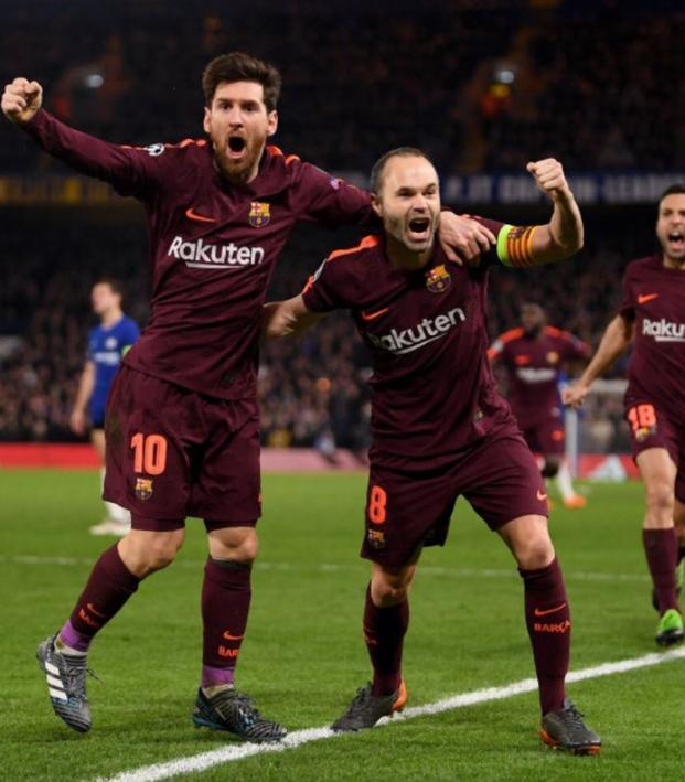 Messi goal vs Chelsea
