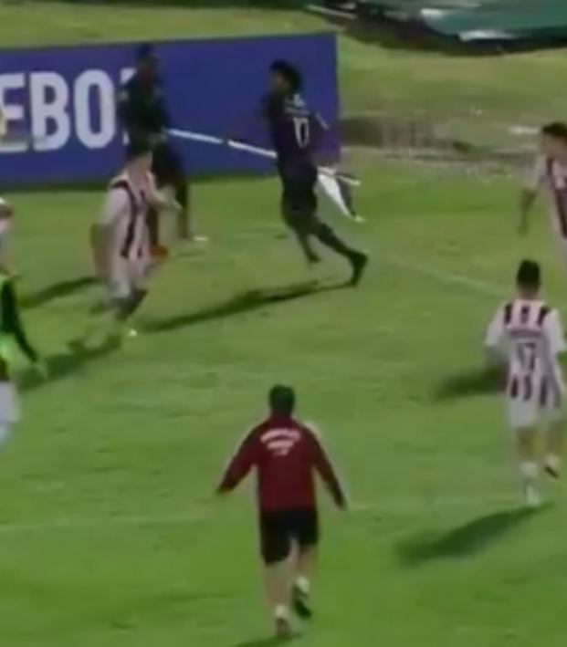 U-20 Copa Libertadores brawl