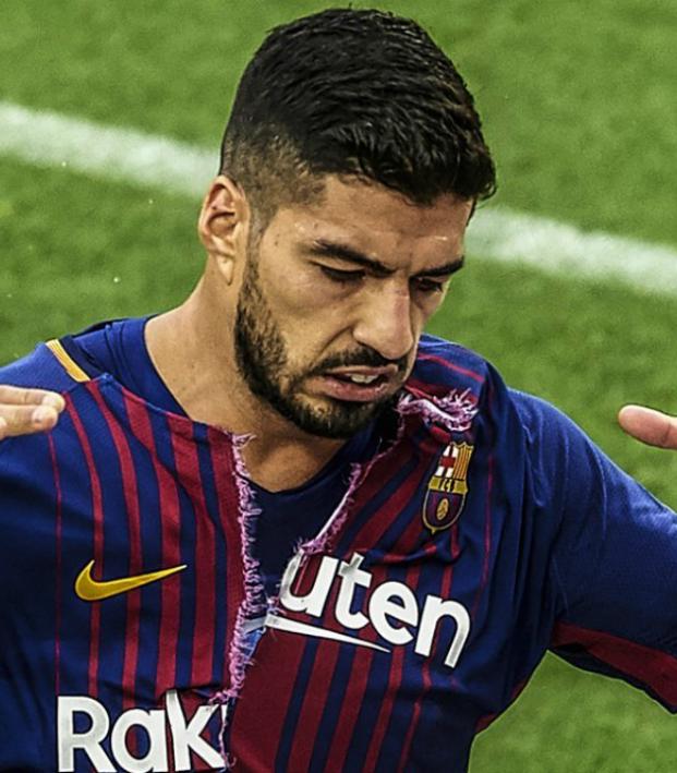Luis Suarez yellow cards