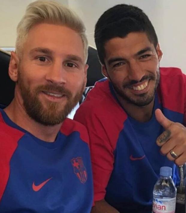 Messi and Suarez