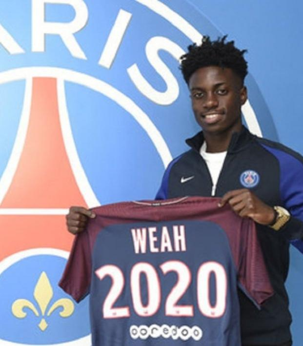 8d28639a1 18-Year-Old American Timothy Weah Is In PSG s Matchday Squad
